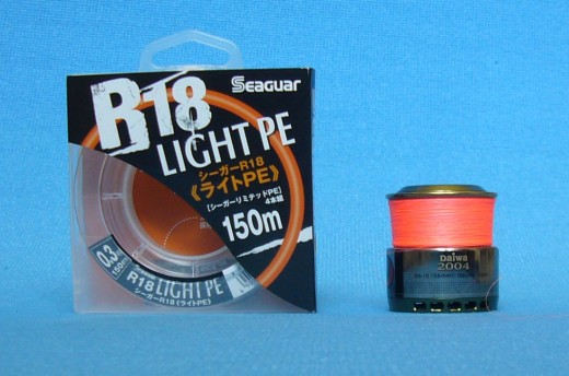 плетенка seaguar r18 light pe 0.3